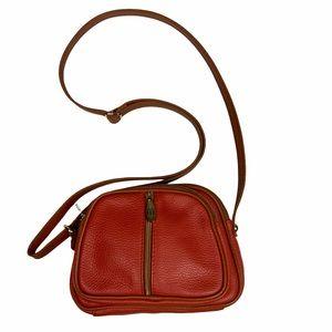 VALENTINA Italian Genuine Leather crossbody purse